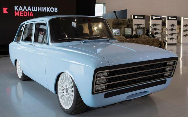 A empresa russa Kalashnikov, fabricante do fuzil AK-47, apresenta conceito elétrico CV-1